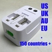 Compact Travel ac adapter included Europe/UK/USA/Australia standards