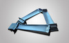 Vacuum casting gas turbine parts turbine compressor blade