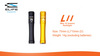 Elegant mini LED Flashlight, with 1pcs AAA battery, with cree led