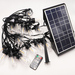 S14 led outdoor string lights solar power