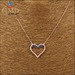 Wholesale custom charm gold plated fashion necklaces women jewelry 201