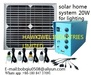 Solar power system & solar lights