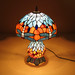 Antique Restaurant Stained Glass LED Tiffany Table Lamp
