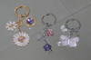 Fashion keychains, handbag holder, buckles, metal button, rivet, nameplate
