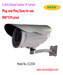 H.264 650TVL CCD Outdoor Infrared IP Camera