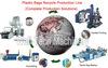 Plastic bag film blowing and printing machine
