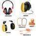 Ear muff ear plug