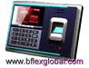 Fingerprint access control time recorder