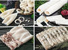 Frozen squid tubes, monk fish, pollock, cod, red fish, salmon