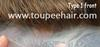 Thin skin toupee