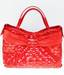 Zuffato Luxury Women Leather Hand Woven Bag Made in Italy