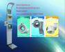 Ultrasonic multifuctional coin operated heightBMI weighing body scale