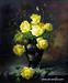 Flower oil painting