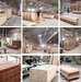 Prehung Melamine PVC MDF Interior Composite Wooden Door for Villa Proj