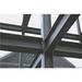 Hot dip galvanised perforated universal column h beam