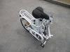 Electric bicycle folding