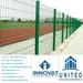 Welded wire mesh material: Low carbon steel wir/PVC coated welded mesh