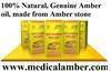 Healing products from Baltic amber stone