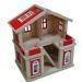 Wooden doll house toy