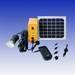 Solar home light with 4pcs lamps and mobile charger