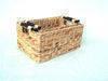 Woven wicker rattan baskets, vase, laundry baskets