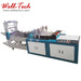Automatic Ziplock Slider LDPE PE Zipper Welding Bag Making Machine
