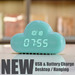 New items 2015 cloud small mini digital clock