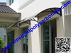 Polycarbonate awnings, DIY awnings, door canopy, window awning canopy