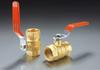 Brass threaded ball valves