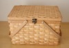 Sell woodchip baskets box with handle