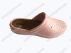 Fashion nude ladies wedge heel eva sandals clogs shoes