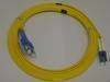 Fiber optic patch cord and connector