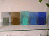 Acid etched glass, float glass, laminated glass, rolled glass, etc.