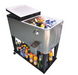 Cooler box, patio cooler, cooler cart, cooler box with wheels