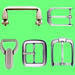 Metal fitting for handbag