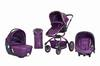 Baby stroller J-S208B  3 in 1