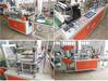 Polyethylene HDPE, LDPE plastic film disposable gloves making machine