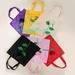 Rose bag, rose shopping bag, rose eco bag, eco rose bag, cute bag