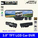 HD Car recorder with rear view mirror monitor AK-H1000 back view camco