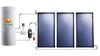Solar collector, solar water heater, heat pump