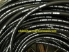 Wire braided  spiral hydraulic rubber fuel hose