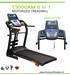 Motorized Treadmill T3000 Sereia