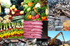 Metal Scraps, Plastic Scraps, Paper scraps, Urea, Agricultural product