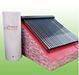 Super conductional heatpipe split pressurized solar water heater