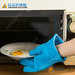 Promotional waterproof gloves, heat resistant silicone cooking gloves