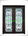 Custome wrought iron entry doors from China