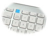 Bluetooth Mac Compatible Keyboard Multi-host switchable