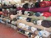 Textiles Fabrics Stock