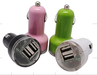 Dual USB Car Charger for Ipod, Iphone 5V 2A for ipod ipad iphone