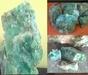 Rough Green Gemstones
